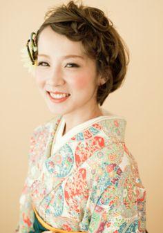 袴 和服のヘアアレンジ③ | Neolive Susu Happy Blog