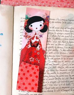 Bookmark Haru by Sybile on Etsy