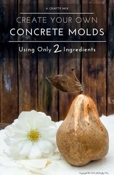 23 Diy Concrete Projects: use concrete to amazing extents - 101 Recycled Crafts Cement Art, Concrete Art, Concrete Garden, Concrete Casting, Cement Planters, Cement Design, Concrete Leaves, Concrete Houses, Concrete Molds