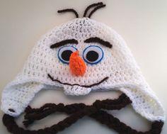 Frozen inspired Olaf hat www.cutiepiehats.com