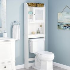 Chapeau 24 W X 67 H Over The Toilet Storage Wall Mounted Bathroom Cabinetsgl