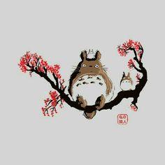 My Neighbor Totoro, text; Studio Ghibli