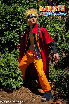 Naruto Sannin mode  Cosplayer: Samuel Donnarumma Photographer: Walter Pellegrini