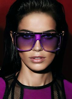 Amanda Wellsh for Gucci S/S 2014 Eyewear Advertising Campaign, ph. by Mert Alas & Marcus Piggott ""