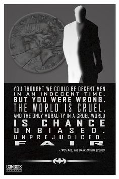 Two-Face quote