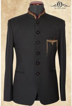 Black Italian Zardosi Embroidered Jodhpuri Suits-ST654 African Wear Styles For Men, African Clothing For Men, Italian Clothing, Dress Suits For Men, Mens Suits, Men Dress, Blazer Outfits Men, Mens Fashion Blazer, Men's Fashion