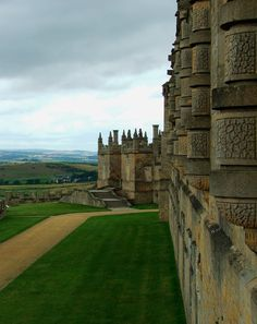 Bolsover Castle in Derbyshire, England