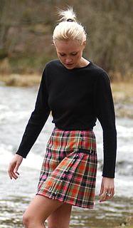 Women's Stacey Kilt, Many tartans available