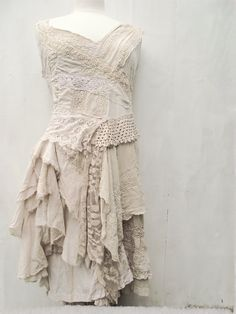 RESERVED FOR DAWN............Vanilla dress