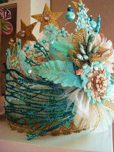 Aqua Crown by ltl blonde, via Flickr