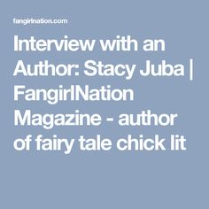 Meet the author of numerous books, including Fooling around with Cinderella, in this interview with Stacy Juba. Contemporary Romance Novels, Fiction Novels, Historical Romance, Fantasy Books, Romance Books, Interview, Author, Pure Romance, Writing Advice