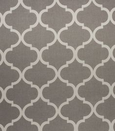 Home Décor Upholstery Fabric   Bishop Grey