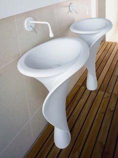 Funky Bathroom Sinks : ... Bathrooms on Pinterest Funky bathroom, Modern bathroom design and