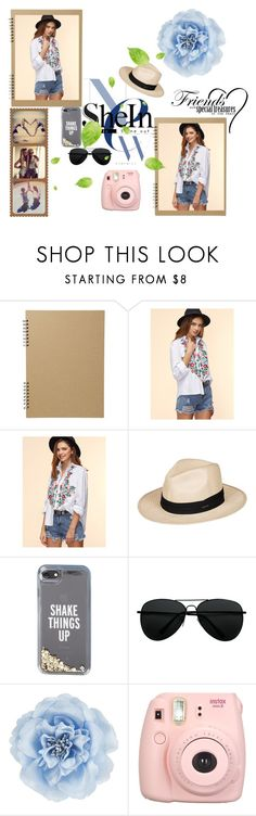 """Friends Book"" by designed-by-me ❤ liked on Polyvore featuring Roxy, Kate Spade, Monsoon, Fujifilm, Summer, friends, polaroid, scrapbook and shein"