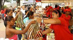 Distribuyen 80 mil kilos de alimentos en Caracas