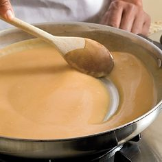 Don't buy the packaged kind; our instructions make great-tasting turkey gravy easier than you think.