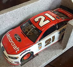 2016 Ryan Blaney Wood Brothers Motorcraft Signed 1/24 Diecast Lionel Car - Autographed Diecast Cars >>> Learn more by visiting the image link.