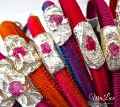 Stunning Red Uru Bracelets via www.urulux.com