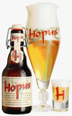 Hopus - Brouwerij Lefebvre, Quenast, België. Beoordeling GGOB: 6,3. Eigen beoordeling: 7,5