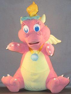 "Dragon Tales Plush Toy Babysitting Surprise Cassie 12"" 1999 Playskool Hasbro  #Playskool"