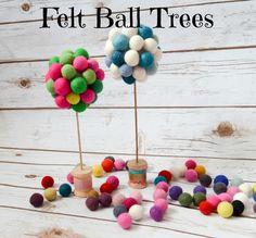 Felt Ball Trees