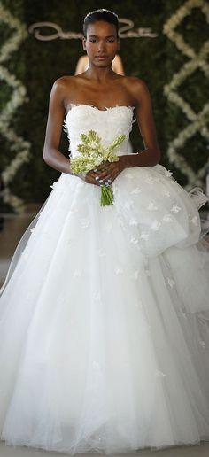 oscar de la renta bridal dress 2014 1