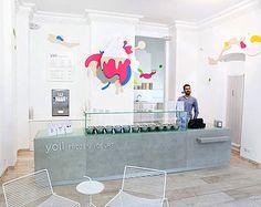 Interior Design of Yogurt Shops - Commercial Interior Design News | Mindful Design Consulting - yogurt-shop-design-yoli