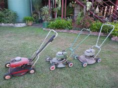 That's some #vintage #Victa #lawnmowers