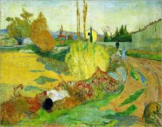 Paul Gauguin landscape