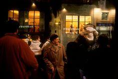 "Harry Gruyaert - France. Dijon. 1996. Christmas decorations at the ""Galeries Lafayette"" department store."