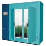 "Complete Range Of Insectary Chamber Insectary Chamber Model Internal Capacity Growth Area Growth Height External Dimension Catalog INSECTARY CHAMBER MA1000 35ft3 (1000l) Upto 22.6 ft²(2.1m²) upto 45""(1065mm) 41.75"" x 32.5"" x79.5"" (1040mm x 825mm x 2020mm) MTAC26 52ft3 (1471l) 26ft2(2.4m2) 24""..."