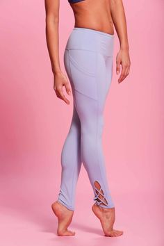 3ea2900a0fd5d5 Pointe Legging - Periwinkle - POPFLEX Womens Workout Outfits, Sport  Outfits, Fitness Outfits,