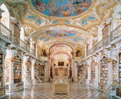 Monasterio Beneditino Admont - Austria maior biblioteca monástica do mundo