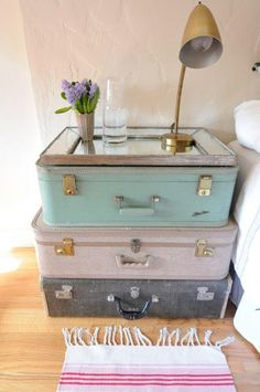 What Can You Make With A Vintage Suitcase