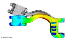 In this project, an eigenfrequency and two static analyses of a motorbike swingarm are demonstrated.