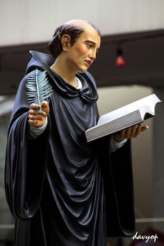 St. Placid, Benedictine Monk by davyop, via Flickr