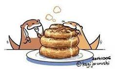 Breakfast with my otter half