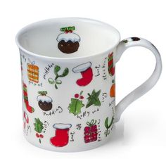 Dunoon Little Bits of Christmas British Christmas Mug in Holiday 2012 from BBC America Shop on shop.CatalogSpree.com, my personal digital mall.