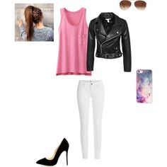Casual by smith-emily-1 on Polyvore featuring Uniqlo, NLY Trend, Paige Denim, BlissfulCASE and Eloquii