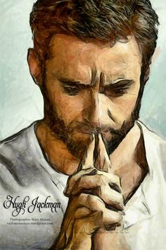 ........| Hugh Jackman | Digital Art | Painting | ....