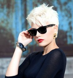 Look Gorgeous With Very Short Hairstyles   Hairstyles 2014