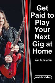 How you can get paid to play your next gig at home. No travelling, no expensive gear to cart around, no stress. Just you, your gear and the audience. Popular Music Artists, Get Paid For Surveys, Concert Stage Design, Get Paid Online, Trance Music, Music Pics, Music Promotion, Played Yourself, Music Theory