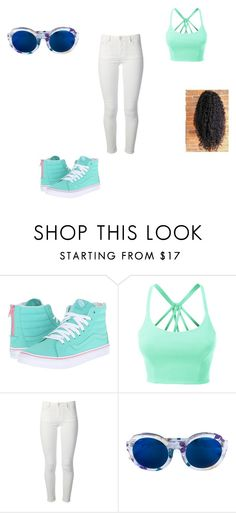"""""""good girl swag"""" by teswagboss on Polyvore featuring Vans, LE3NO, Acne Studios and Linda Farrow"""