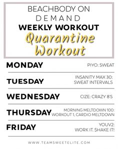 Weekly Workout Schedule, Workout List, Workout Calendar, Toning Workouts, Workout Ideas, Week Workout, Workout Plans, Fitness Workouts, Thursday Workout