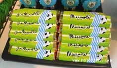 Juan Manuel y Máximo Temática Fútbol Uruguay   Tarjetas Invitaciones y Souvenirs - Montevideo