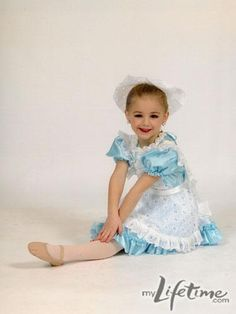 Dance Moms Chloe childhood pictures