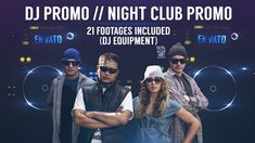 DJ Promo // Night Club Promo  • After Effects Template • Download ↓ https://videohive.net/item/dj-promo-night-club-promo/12130527?ref=pxcr
