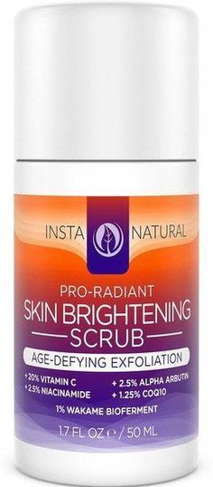 Skin Brightening Scrub #SkinBrightening Organic Skin Care, Natural Skin Care, Natural Hair, Natural Beauty, Combination Skin Care, Moisturizer For Dry Skin, Homemade Moisturizer, Facial Scrubs, Skin Cream