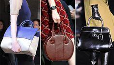 Fall/ Winter 2013-2014 Handbag Trends - Leather Bags