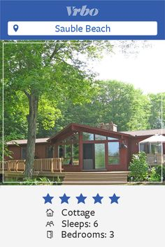 Vacation Cottage in Sauble Beach